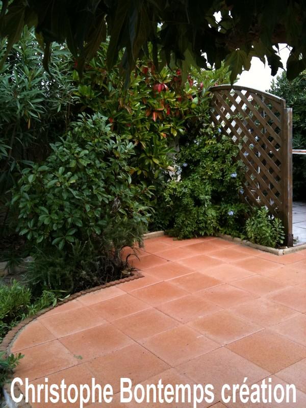 Creation dallage et entretien jardin Palavas les Flots