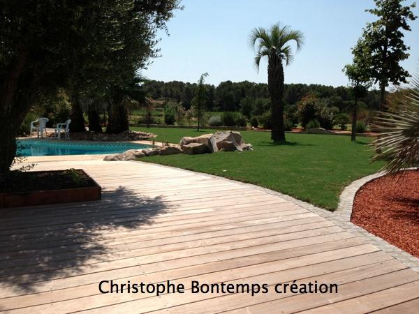 Création jardin Castelnau
