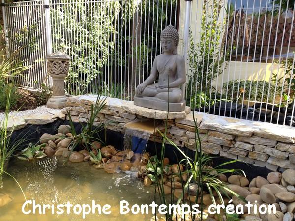 Fontaine et bassin Perols