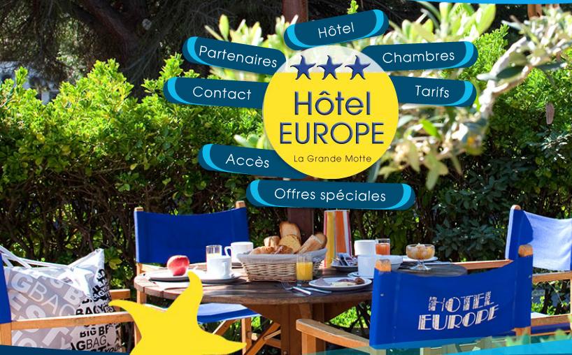 hôtel europe la grande motte