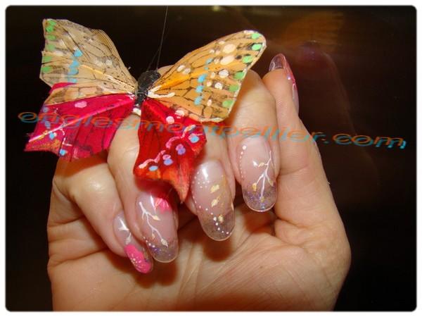 Pose de faux ongles Montpellier