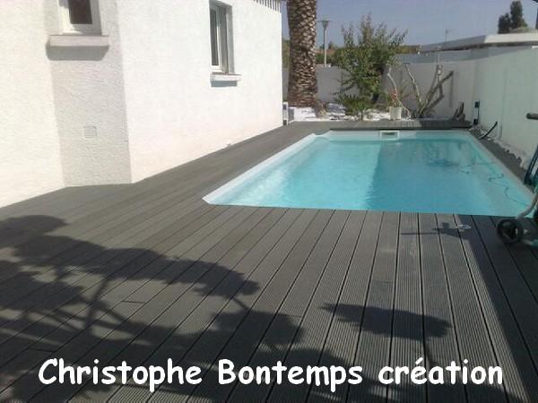 Terrasse composite Lattes